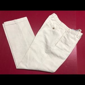 Incotex Chinolino TAN Pants 32Wx31 Cotton/Linen